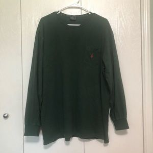Polo Ralph Lauren Hunter Green Long Sleeve Shirt L